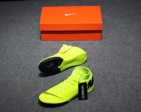 Nike MercurialX Superfly VI Academy IC ALWAYS FORWARD - VOLT/BLACK
