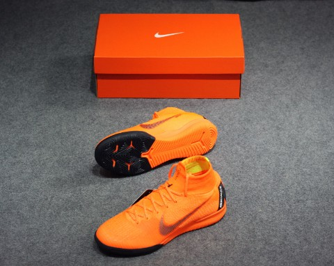 Nike Mercurial SuperflyX 6 Elite IC Fast AF - Total Orange/Black