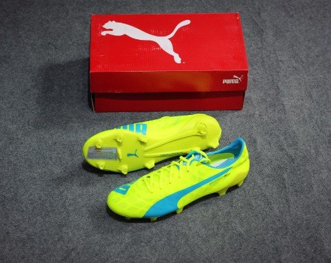 Puma EvoSPEED SL FG Yellow/blue/White