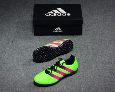 ADIDAS ACE 16.3 TF GREEN PINK