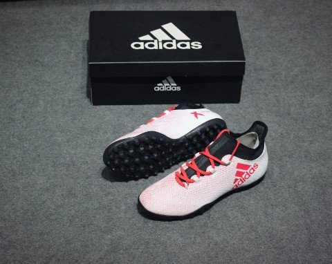 adidas X Tango 17.3 TF Cold Blooded - Footwear White/Real Coral/Core Black