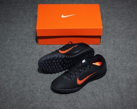 Nike Mercurial VaporX 12 Pro TF Fast AF - Black/Total Orange/White