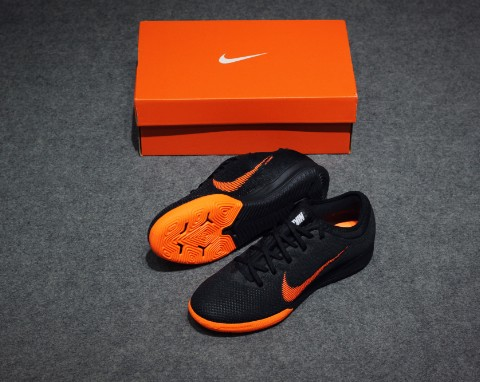 Nike Mercurial VaporX 12 Pro IC Fast AF - Black/Total Orange/White