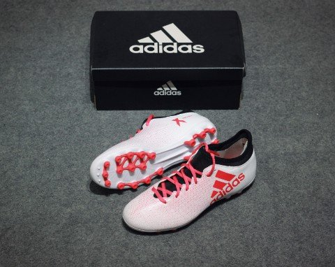 adidas X 17.3 AG Cold Blooded - Footwear White/Real Coral/Core Black