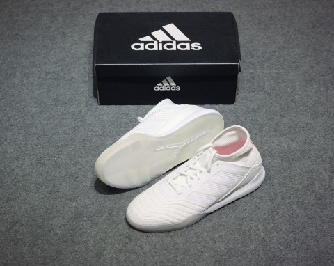 adidas Predator Tango 18.3 Trainer Cold Blooded - Footwear White/Core Black/Real Coral