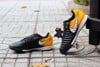 Nike TiempoX Ligera IV TF Lock in. Let loose. - Black/White/Laser Orange