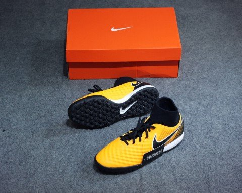NIKE MAGISTAX ONDA II DF TF LOCK IN. LET LOOSE. - LASER ORANGE/BLACK/WHITE