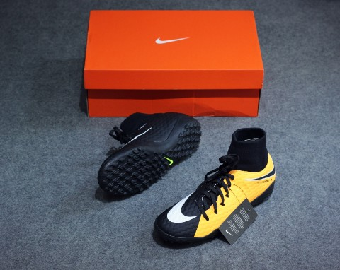 Nike Hypervenom Phelon 3 DF TF Lock in. Let loose. - Laser Orange/White/Black