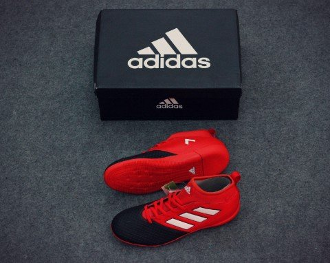 ADIDAS ACE 17.3 PRIMEMESH JR IN RED/WHITE/CORE BLACK