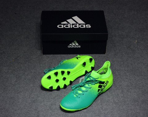 ADIDAS X 16.3 HG TURBOCHARGE - SOLAR GREEN/CORE BLACK
