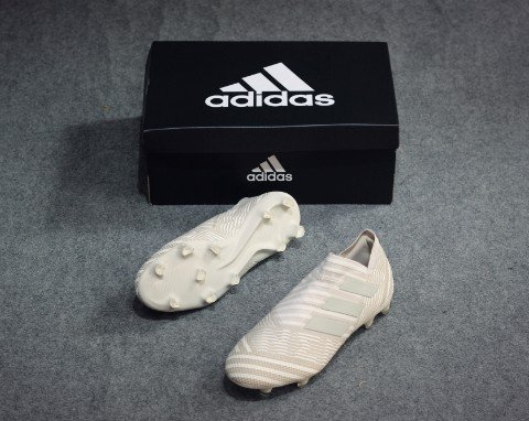 Adidas Nemeziz 17+ 360Agility FG/AG Earth Storm - Clear Brown/Sesame
