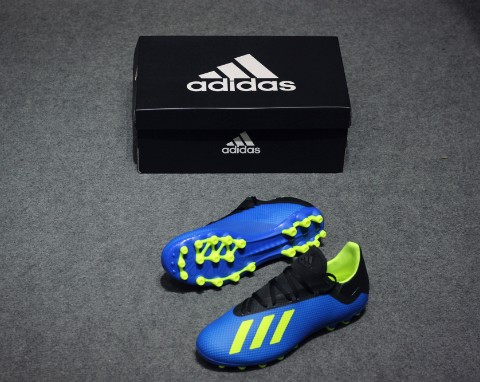 adidas X 18.3 AG Energy Mode - Blue/Solar Yellow