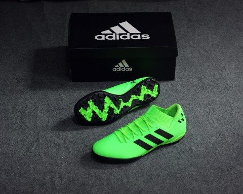 adidas Nemeziz Messi 18.3 TF Energy Mode - Solar Green/Core Black