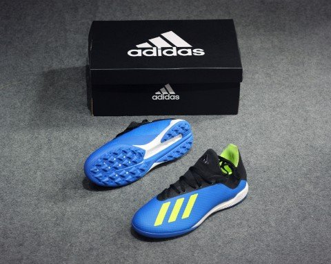 Adidas X 18.3 TF Energy Mode - Blue/Solar Yellow