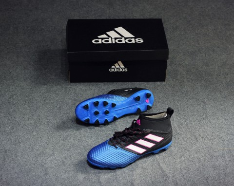 ADIDAS ACE 17.3 PRIMEMESH HG CORE BLACK/WHITE/BLUE