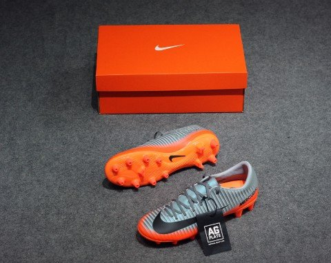 Nike Mercurial Victory VI CR7 AG Pro- Cool Grey/ Metallic Hematite/ Wolf Grey