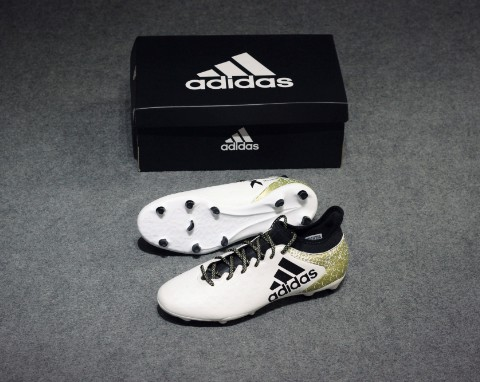 ADIDAS X 16.3 FG WHITE/CORE BLACK/GOLD METALLIC