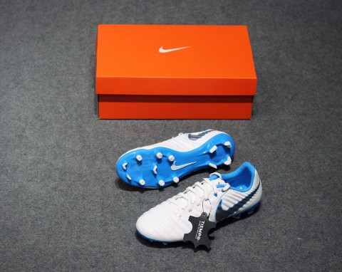 Nike Tiempo Legend 7 Academy FG Just Do It - White/Blue Hero
