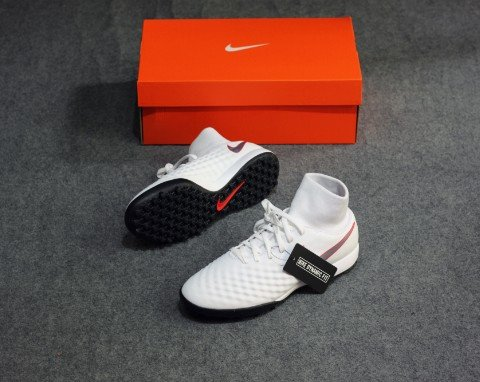 Nike Magista ObraX 2 Academy DF TF Just Do It - White/Lite Crimson