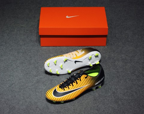 Nike MercurialX Victory VI FG Lock in. Let loose. - Laser Orange/Black/White
