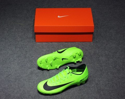 NIKE MERCURIAL VICTORY VI FG GREEN /BLACK/FLASH LIME