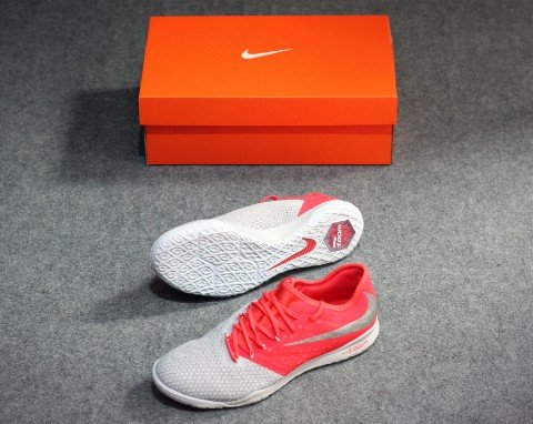 Nike Hypervenom 3 Pro Zoom IC Raised On Concrete - Wolf Grey/Light Crimson