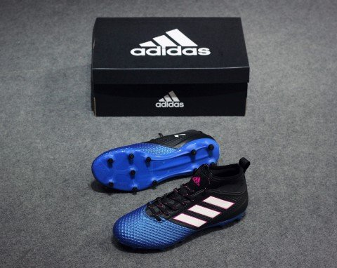 ADIDAS ACE 17.3 PRIMEMESH FG CORE BLACK/WHITE/BLUE