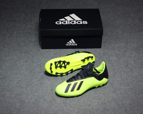 Adidas X Tango 18.3 AG TEAM MODE - Solar Yellow/ Core Black/ White