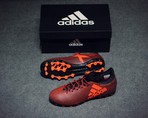 adidas X Tango 17.3 AG Pyro Storm - Core Black/Solar Red/Solar Orange