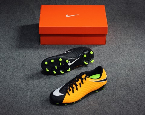 Nike Hypervenom Phelon 3 FG Lock in. Let loose. - Laser Orange/White/Black