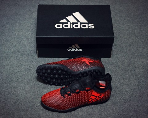 adidas X Tango 17.3 TF Pyro Storm - Core Black/Solar Red/Solar Orange