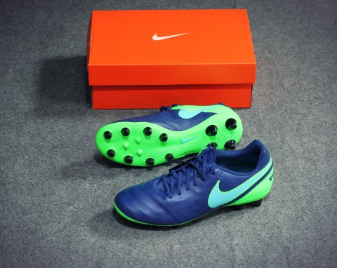 Nike Tiempo Genio II AG-PRO Floodlights Pack - Coastal Blue/Polarized Blue/Rage Green