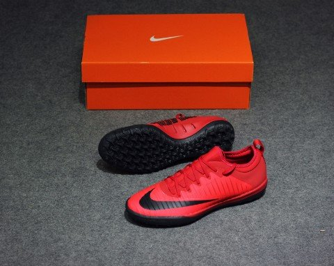 NIKE MERCURIALX FINALE II TF FIRE AND ICE PACK UNIVERSITY RED/BLACK