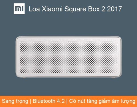 Loa Xiaomi Square Box 2 2017