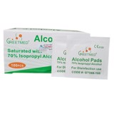 Gạc tẩm cồn Alcohol Pads Greetmed