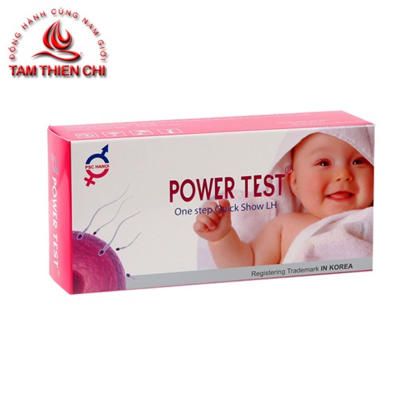 Que thử rụng trứng LH Powertest (Hộp 5 test)