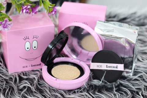 Phấn nước 3CE BARBAPAPA Fitting Cushion Foundation.TR085