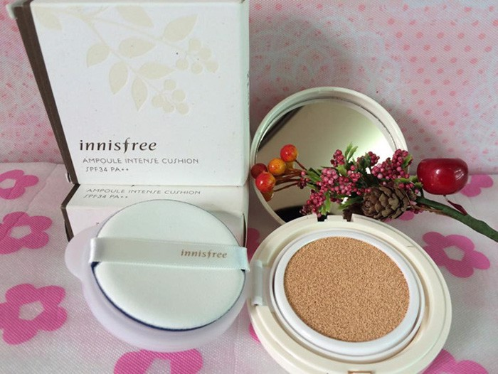 Phấn nước Ampoule Intense Cushion – Cover INNISFREE  TR085