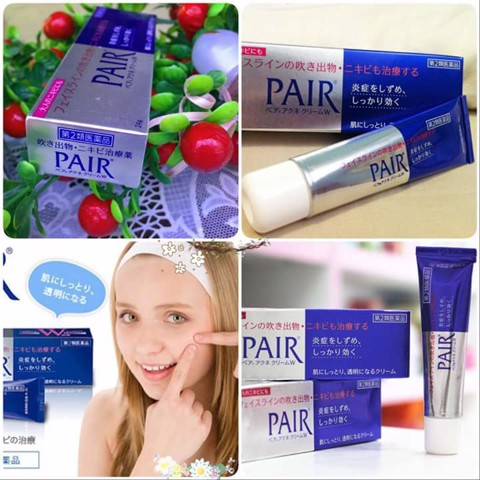 Gel trị mụn Pair Acne W Cream TR0105