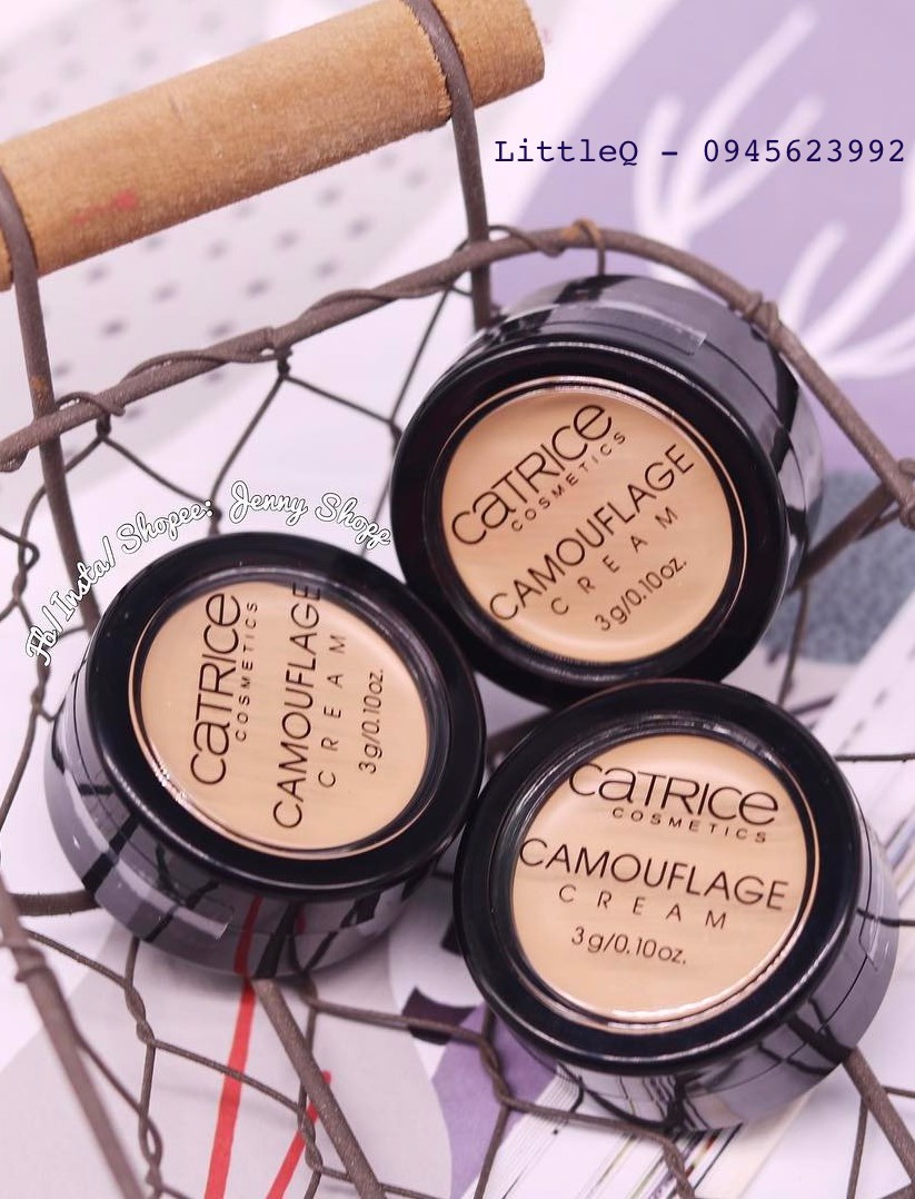 KEM CHE KHUYẾT ĐIỂM CATRICE CAMOUFLAGE CREAM