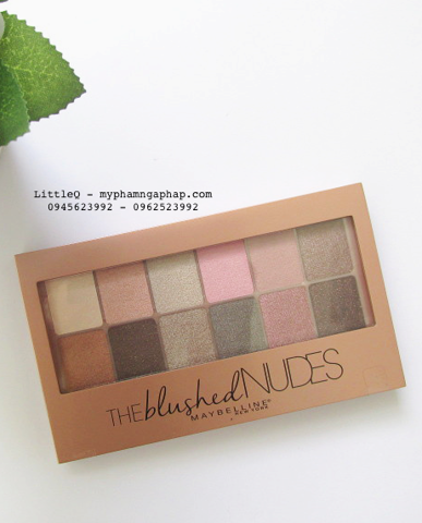 PHẤN MẮT THE BLUSHED NUDES MAYBELLINE NEW YORK