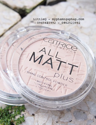 PHẤN PHỦ CATRICE ALL MATT PLUS SHINE CONTROL POWER