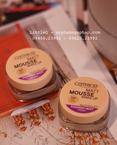 PHẤN TƯƠI CATRICE 12H MATTE MOUSSE MAKE UP