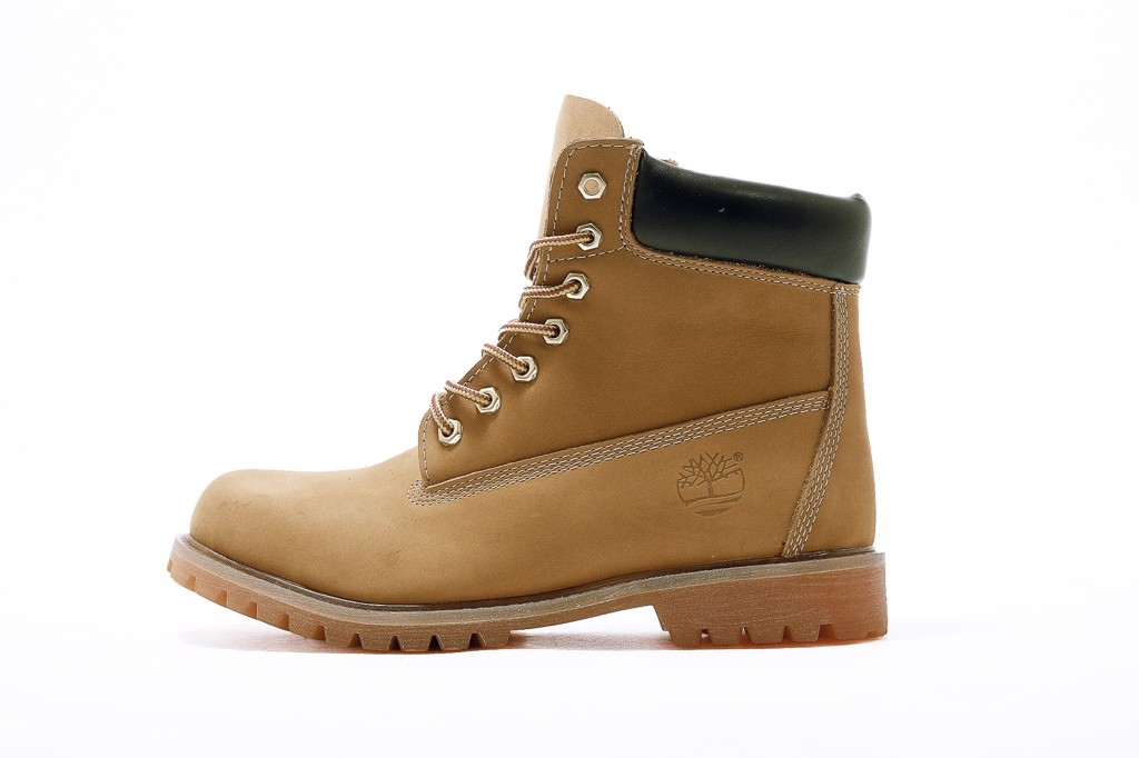 TIMBERLAND 6-INCH WATERPROOF BOOTS - WHEAT NUBUCK