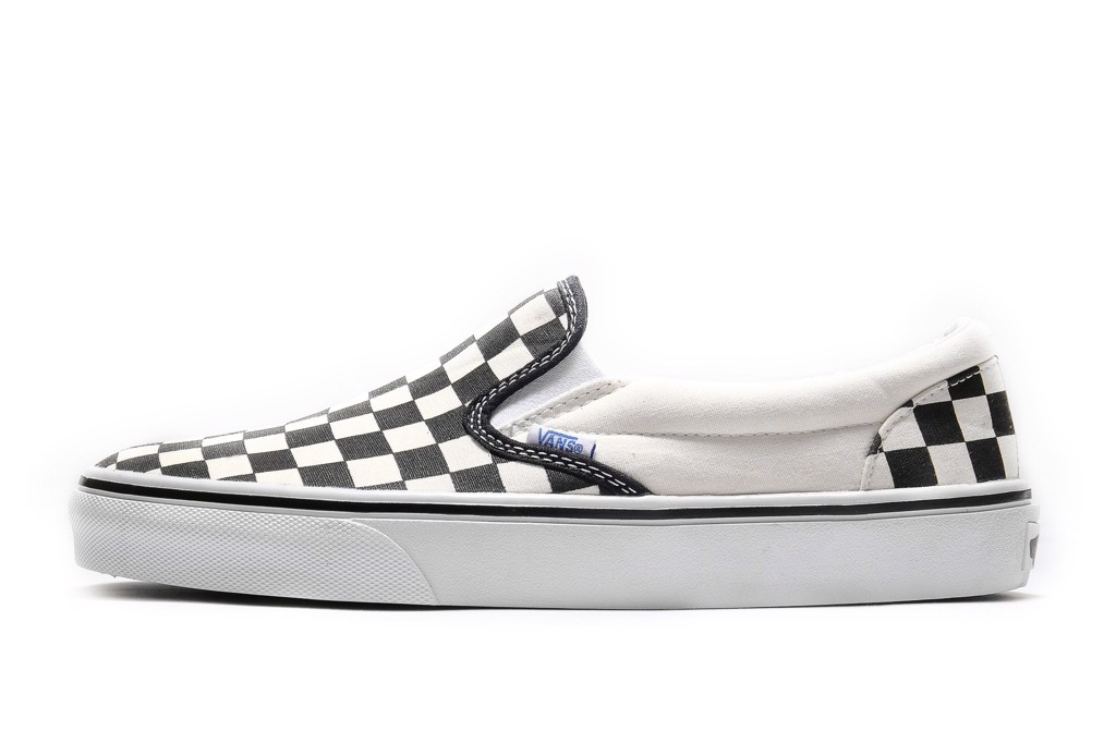 VANS CHECKERBOARD SLIP-ON