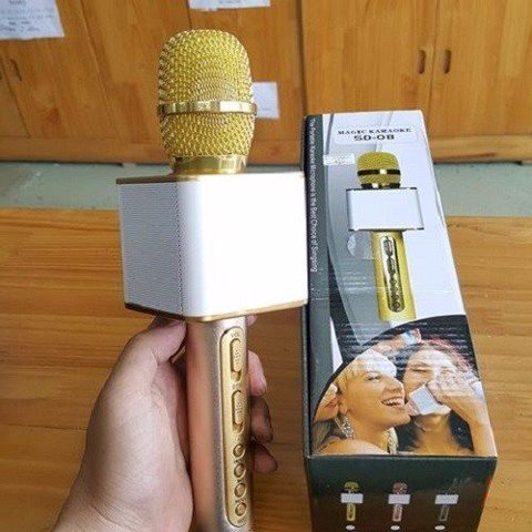 Mic karaoke bluetooth SD 08