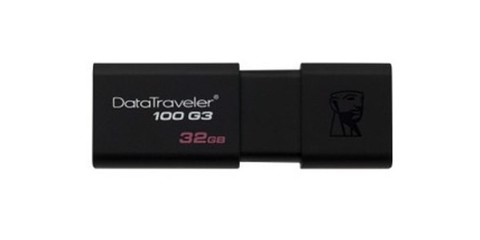 USB 32GB cổng 3.1/ 3.0/ 2.0 Kingston DataTraverler 100G3
