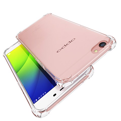 Oppo F1S A59 - Ốp lưng chống sốc dẻo (Trong suốt)