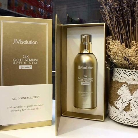 Tinh chất vàng JMsolution 24K Gold Premium Peptide All In One