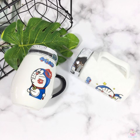 Ly sứ Doraemon